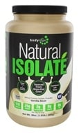 Bodylogix - Natural Isolate Whey Protein Natural Vanilla Bean - 1.85 lbs. by Bodylogix