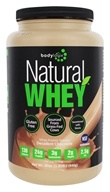 Bodylogix - Natural Whey Protein Natural Dark Chocolate - 1.85 lbs. by Bodylogix