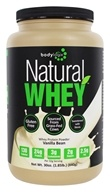 Bodylogix - Natural Whey Protein Natural Vanilla Bean - 1.85 lbs. by Bodylogix