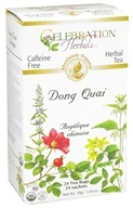 Celebration Herbals - Organic Caffeine Free Dong Quai Herbal Tea - 24 Tea Bags (628240251275)