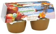 Vermont Village - Organic Applesauce Maple Syrup - 4 x 4 oz. Cups by Vermont Village