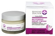 Manuka Doctor - ApiNourish Restoring Night Cream With Purified Bee Venom - 1.69 oz. (852469004040)