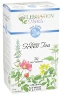 Celebration Herbals - Pure Quality Chinese Green Tea - 24 Tea Bags