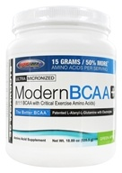 USP Labs - Modern BCAA+ Ultra Micronized Amino Acid Supplement Green Apple - 18.89 oz.