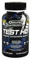 Muscletech Products - Test HD Performance Series Hardcore Testosterone Booster Bonus Size - 108 Caplets, from category: Sports Nutrition