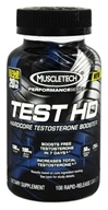 Muscletech Products - Test HD Performance Series Hardcore Testosterone Booster Bonus Size - 108 Caplets (631656604085)