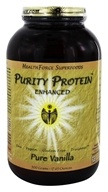 HealthForce Nutritionals - Purity Protein Enhanced Pure Vanilla - 500 Grams - $39.95