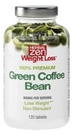 Herbal Zen Weight Loss - Green Coffee Bean 100% Premium 800 mg. - 120 Tablets