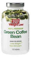 Herbal Zen Weight Loss - Green Coffee Bean 100% Premium 800 mg. - 120 Tablets by Herbal Zen Weight Loss