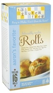 123 Gluten Free - Aaron's Favorite Rolls Mix - 14.08 oz., from category: Health Foods