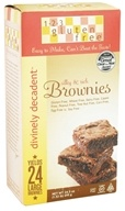 123 Gluten Free - Divinely Decadent Brownie Mix - 24.5 oz. (182566000103)