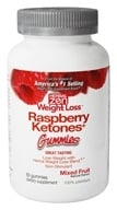 Image of Herbal Zen Weight Loss - Raspberry Ketones Gummies Mixed Fruit - 60 Gummies