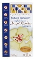 123 Gluten Free - Lindsay's Lipsmackin' Sugar Cookie Mix - 21.6 oz. by 123 Gluten Free