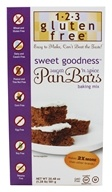 123 Gluten Free - Sweet Goodness Pan Bar Mix - 20.48 oz., from category: Health Foods
