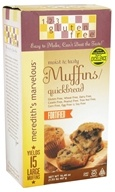 123 Gluten Free - Meredith's Marvelous Muffin/Quickbread Mix - 16.48 oz., from category: Health Foods