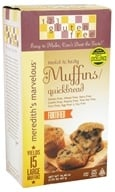 123 Gluten Free - Meredith's Marvelous Muffin/Quickbread Mix - 16.48 oz. by 123 Gluten Free