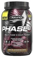 Muscletech Products - Phase8 Performance Series Multi-Phase 8-Hour Protein Milk Chocolate Bonus Size - 2.2 lbs. by Muscletech Products
