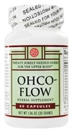 OHCO - Flow Upper Body Tension Relief - 60 Capsules, from category: Herbs