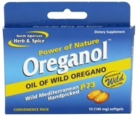 North American Herb & Spice - Power of Nature Oreganol Wild Oregano - 10 Softgels by North American Herb & Spice