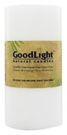 "GoodLight Natural Candles - Pillar Unscented - 3"" x 6"", from category: Aromatherapy"