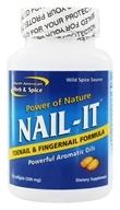 North American Herb & Spice - Power of Nature Nail-It Finger & Toenail Formula - 60 Softgels (635824005490)