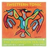 The Algonquin Tea Co. - 100% Certified Organic Herb Sweetfern Tonic - 24 Tea Bags (628240985033)