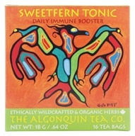 The Algonquin Tea Co. - 100% Certified Organic Herb Sweetfern Tonic - 24 Tea Bags