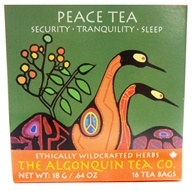 The Algonquin Tea Co. - 100% Certified Organic Herb Peace Tea - 16 Tea Bags - $8.49
