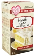 Image of XO Baking Co. - Gourmet Cake Mix Vanilla - 19 oz.