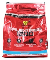 BSN - True-Mass 1200 Ultra-Premium Super Mass Gainer Vanilla Ice Cream - 10.25 lbs. by BSN