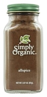 Simply Organic - Allspice - 3.07 oz., from category: Health Foods