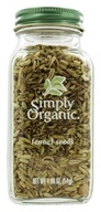 Simply Organic - Fennel Seeds - 1.9 oz. (089836180377)