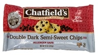 Image of Chatfield's - Double Dark Semi-Sweet Chocolate Chips - 10 oz.