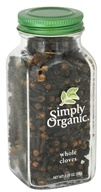 Simply Organic - Whole Cloves - 2.05 oz.