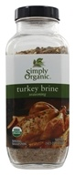 Simply Organic - Turkey Brine Seasoning - 14.1 oz.