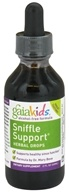 Image of Gaia Herbs - GaiaKids Sniffle Support Herbal Drops - 2 oz.