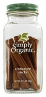 Simply Organic - Cinnamon Sticks - 1.13 oz. (089836194978)