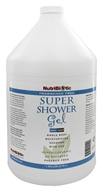 Nutribiotic - Super Shower Gel Non-Soap Shampoo With GSE Fragrance Free - 1 Gallon