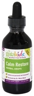 Image of Gaia Herbs - GaiaKids Calm Restore Herbal Drops - 2 oz.