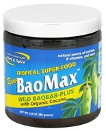 North American Herb & Spice - Tropical Superfood Raw BaoMax Powder - 2.8 oz.