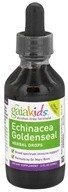 Gaia Herbs - GaiaKids Echinacea Goldenseal Herbal Drops - 2 oz. - $16.24
