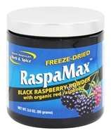 North American Herb & Spice - Freeze-Dried RaspaMax Raspberry Powder - 3 oz. by North American Herb & Spice