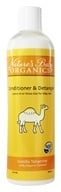 Image of Nature's Baby Organics - Conditioner & Detangler Vanilla Tangerine - 12 oz.