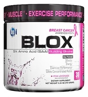 BPI Sports - Blox Silk Amino Acid Building Blocks - 30 Servings Pink Lemonade - 151 Grams (851780002896)