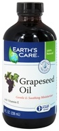 Earth's Care - Grapeseed Oil with Vitamin E Gentle & Soothing Moisturizer - 8 oz.