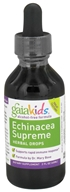 Image of Gaia Herbs - GaiaKids Echinacea Supreme Herbal Drops - 2 oz.