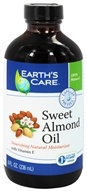 Earth's Care - Sweet Almond Oil Nourishing Natural Moisturizer - 8 oz. (857307003407)