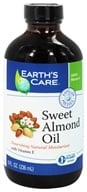 Image of Earth's Care - Sweet Almond Oil Nourishing Natural Moisturizer - 8 oz.