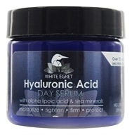 White Egret - Hyaluronic Acid Facial Day Serum - 2 oz.