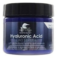 White Egret - Hyaluronic Acid Facial Day Serum - 2 oz., from category: Personal Care
